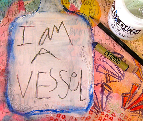 Vessel, Circle Journal, Diana Trout