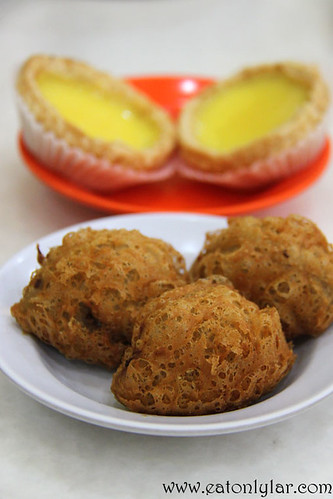 Fried Yam Pastry and Golden Egg Tart, Restoran Jin Xuan Hong Kong Sdn Bhd