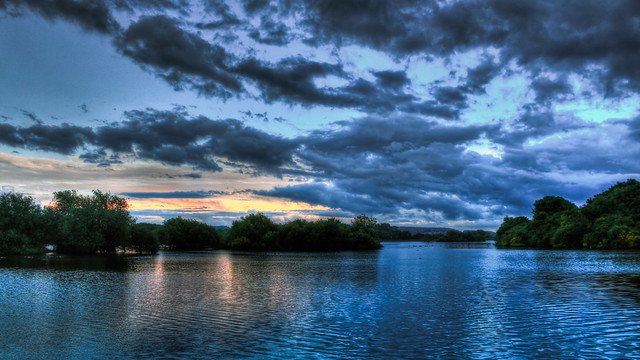 0295 - England, Nottingham, Attenborough Nature Reserve HDR