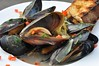 Mussels in a Braised Fennel and Leek Sauce