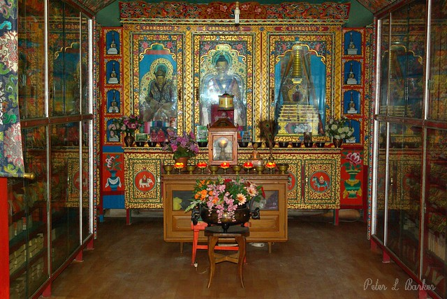 Buddhist Prayer Room Design