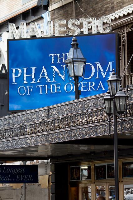 phantom of the opera majestic theatre on broadway