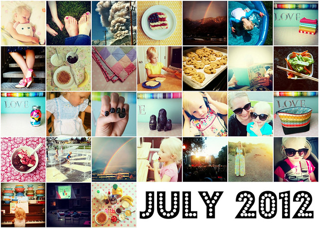 7. July 2012 Instagram Mosaic
