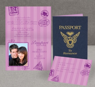 Passport to Romance InvitationsByDawn