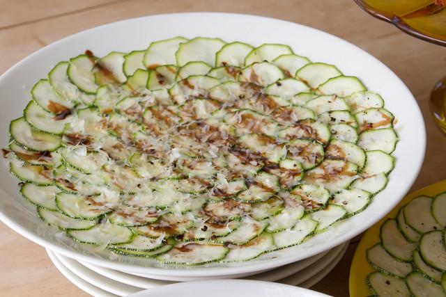 Zucchini carpaccio / Courgette salad / Suvikõrvitsalat   Flickr ...