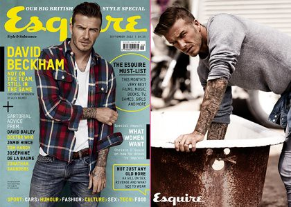 David Beckham Esquire Magazine cover3
