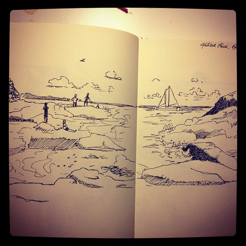 Sketchbook: Halibut Point