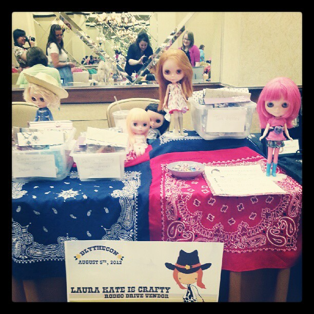 My stall! #blythecon