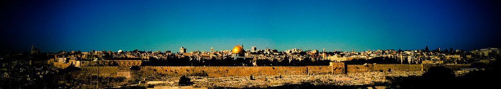 panorâmica de Jerusalém / panoramic view of Jerusalem