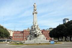 Buenos Aires - Monserrat: Parque Colón - Monumento a Cristóbal Colón