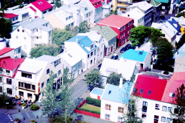 reykjavik closeup homes