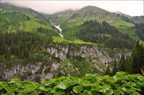 Lechtal (Lech Valley) in Austria