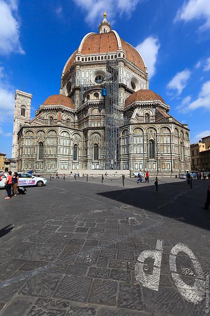 Санта-Мария-дель-Фьоре - непередаваемой красоты кафедральный собор во Флоренции