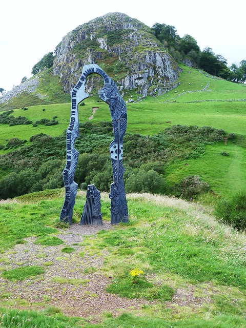 Spirit of Scotland Sculpture, Loudon Hill