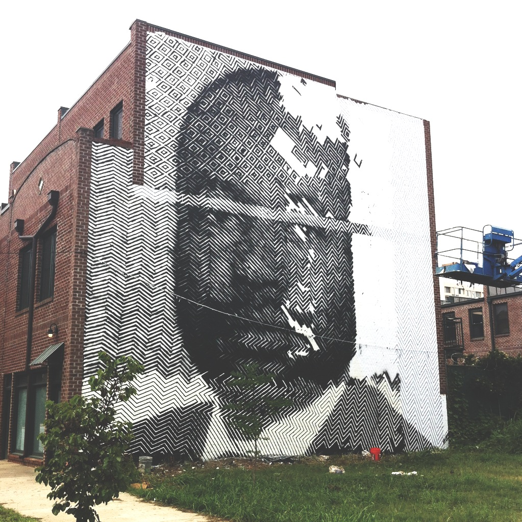 Living Walls Martin Luther King Jr. street art Sten and Lex