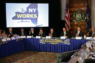 NY Gov. Cuomo at REDC meeting