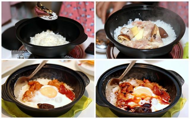 C-Jade HK Café IN: D.I.Y Braised Rice (自己煮饭仔)