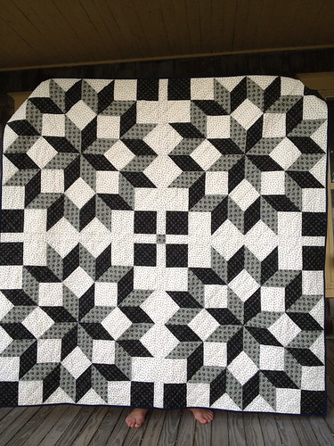 Carpenter's Wheel Quilt
