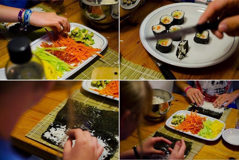 sushi machen