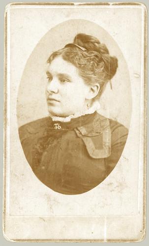 CDV portrait of woman