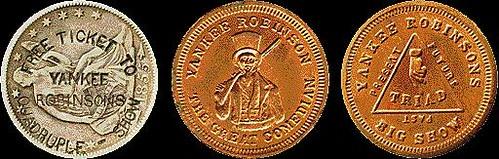 Yankee Robinson coins