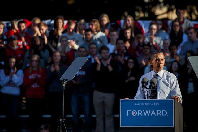Obama & William at Ohio State-6