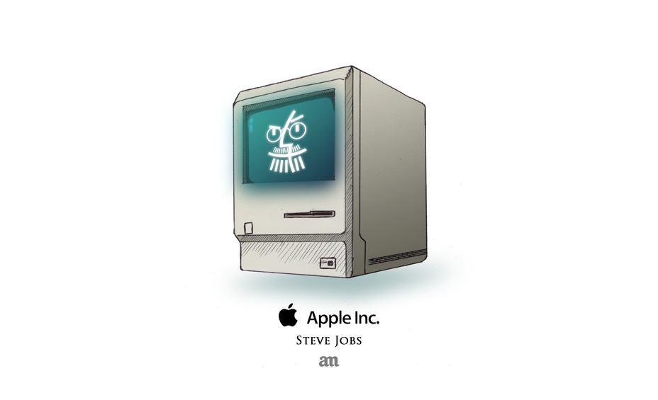 "Apple - ""technofaces"""