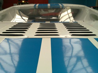 Ford GT40 Rear Window - London Motor Museum
