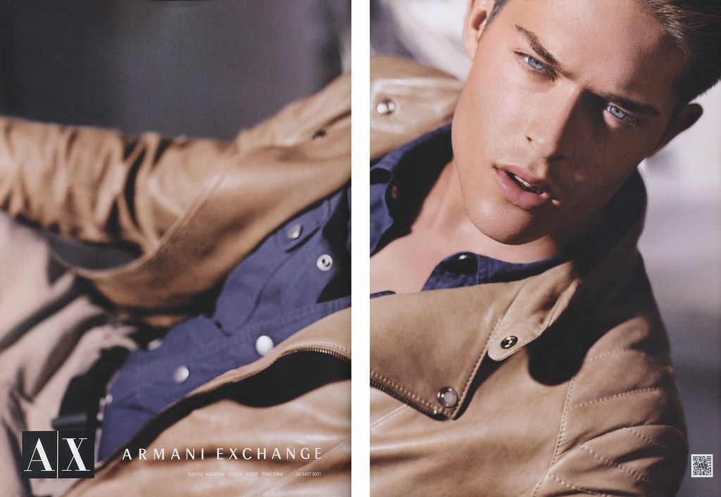 Cesar Casier0009_Armani Exchange AW12(LOADED vol.6_2012_10)