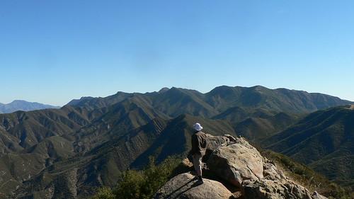 Derek atop Chief Peak