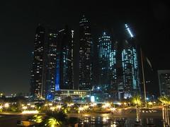Typical Abu Dhabi Skyline