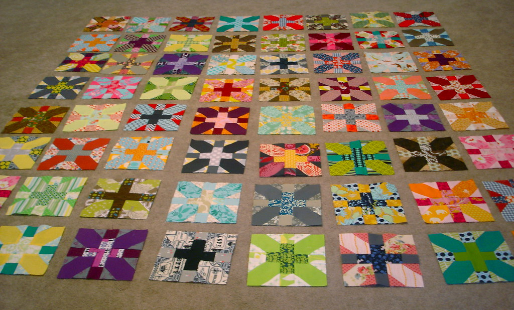 x & +, blocks all finished.