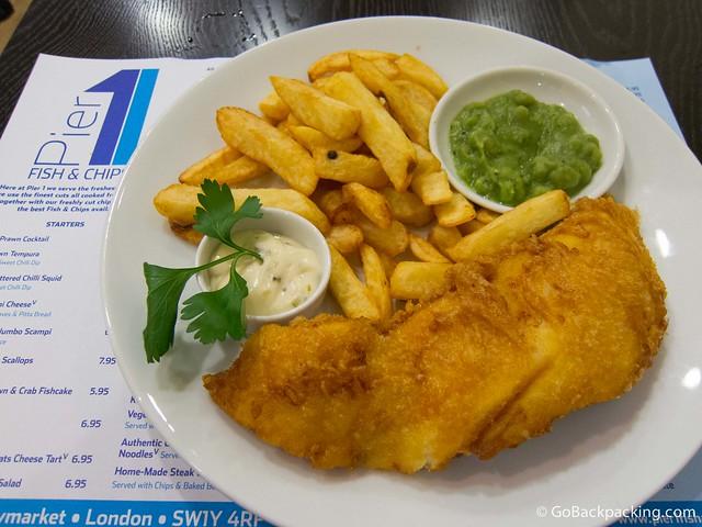 Fish & Chips at Pier 1