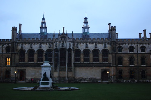 King's College courtyard in Cambridge
