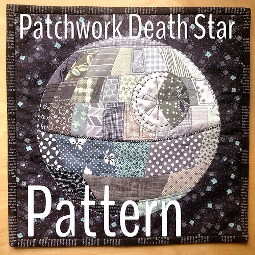 The pattern is posted to my blog. Link in my profile. Please please tag it #patchworkdeathstar.  I'd love to see it.