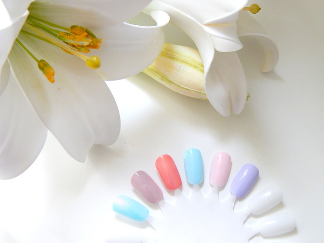 Spring Nails ft Models Own Essie Barry M and Loreal Swatches