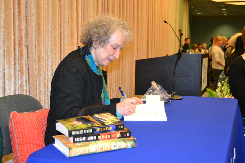 Margaret Atwood visits Omaha