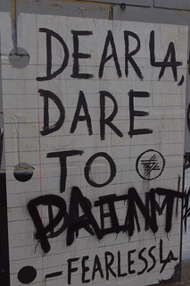 DEAR L.A DARE TO PAINT