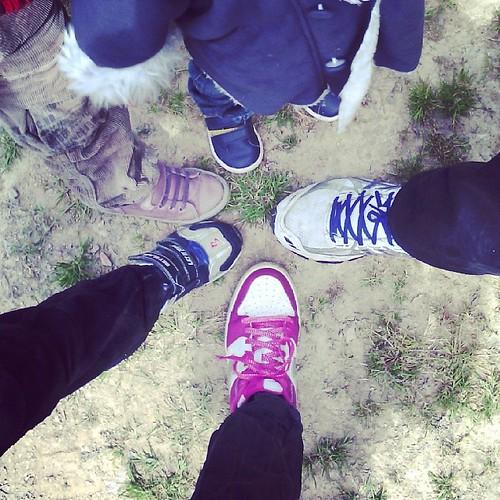 C'est partie pour 10 km de marche #ourlittlefamily #france