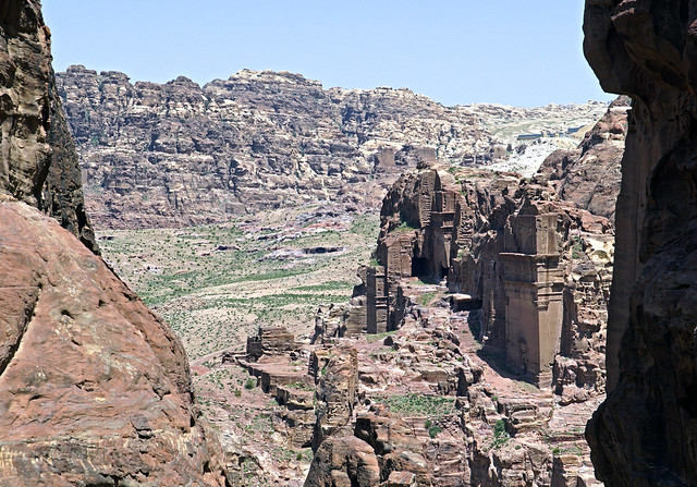 16 0401 - Jordanie, Petra, le tombeau d' Uneishu