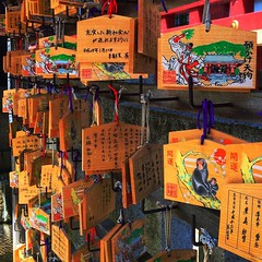 Sometimes things become possible if we want them bad enough. #wish #vacation #shrine #japan #絵馬 #travel #throwback