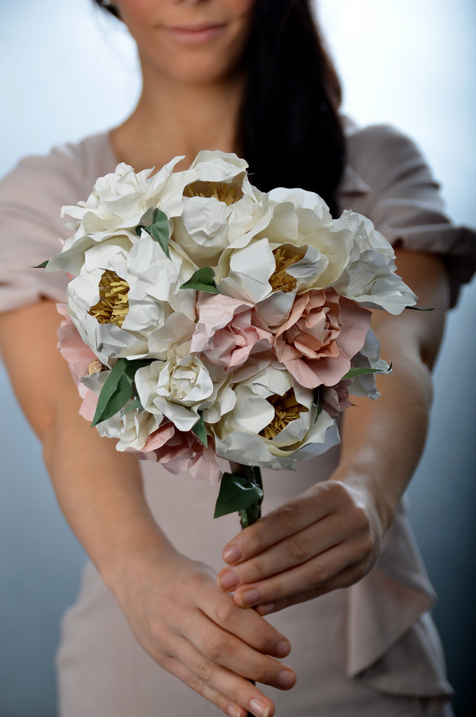 Paper Flowers by Helen Frances