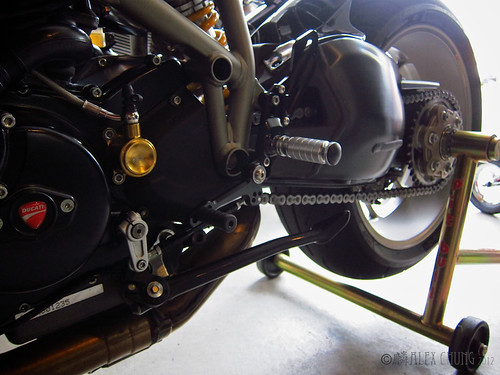 New rearsets! by Speedy Chung