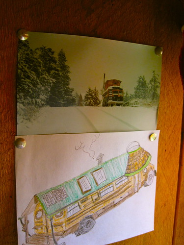 portrait of the bus