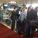Crowd gathers to discuss Sideros Rotolift: welding positioner