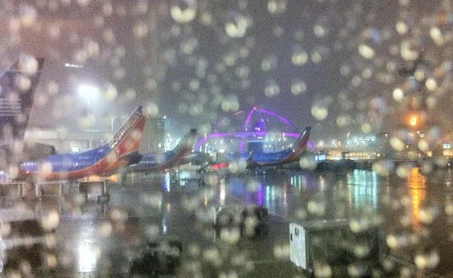 Rainy LAX