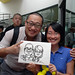 Caricature live sketching for Singapore Suntec City Annual Party - 17