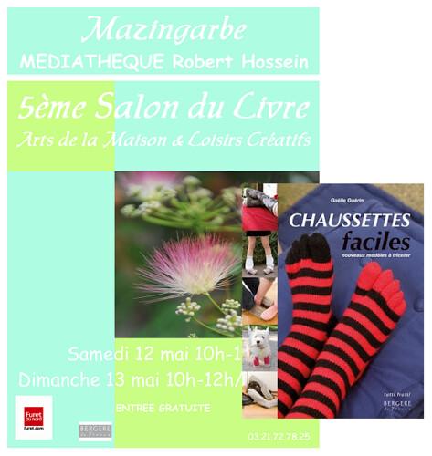 Knit Spirit au 5ème Salon du Livre de Mazingarbe
