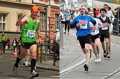 Jeden maratonec v pohodě, na druhého padla jarní deka