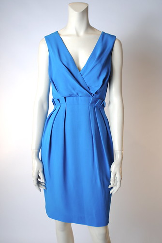 Ellie Drape Front Dress